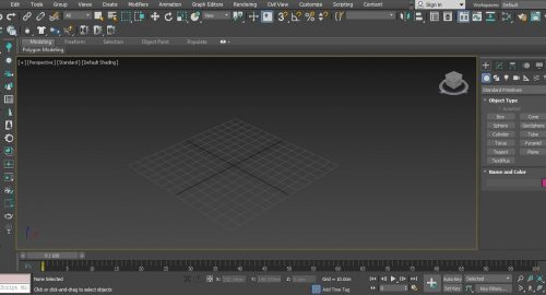 مدلسازی معماری در 3dsmax
