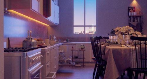 (Kitchen design)  توسط اسکچاپ