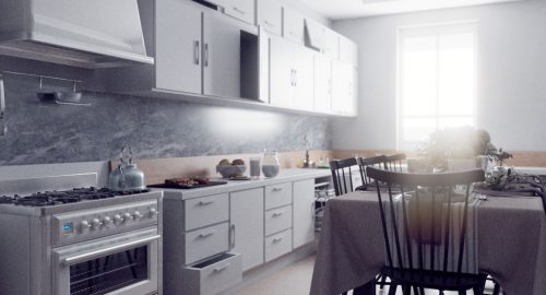 آموزش تنظیمات نورپردازی در فضای داخلی توسط  ویری
