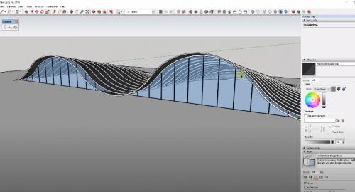 آموزش مدل سازی ساختارهای پیچیده در SketchUp