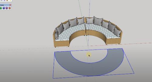 آموزش مدل سازی مبل توسط اسکچاپ