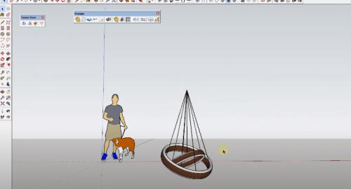 آموزش مدل سازی لامپ های مدرن در اسکچاپ