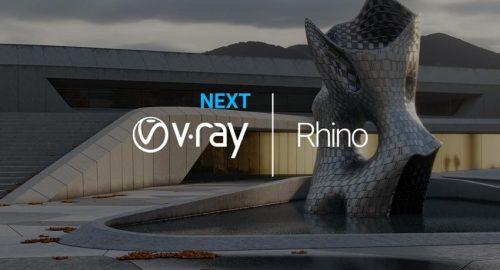 دوره آموزش ویری نکست برای راینو (vray next for Rhino)