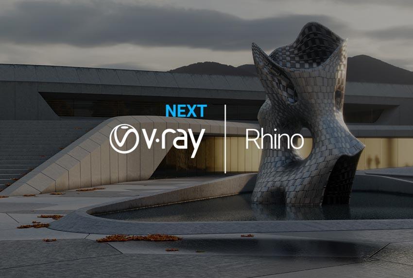 v.ray next for Rhino