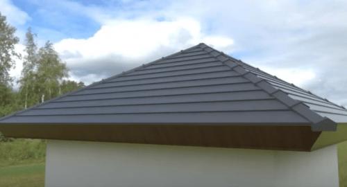 مدل سازی سقف شیب دار در اسکچاپ