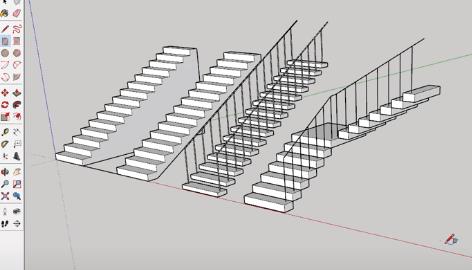 7 روش ایجاد پله در اسکچاپ