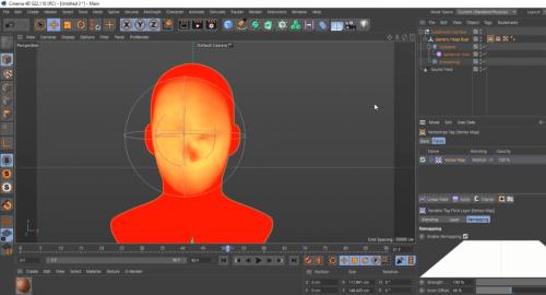 آموزش ساخت انیمیشن با Sound Effectors در سینما فوردی(Cinema 4D)