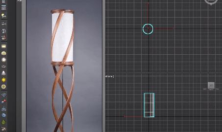 آموزش رایگان مدل سازی لامپ مدرن در تری دی مکس (3D Max)