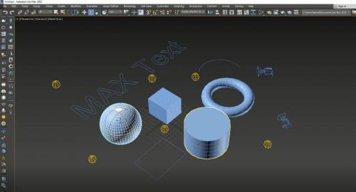 آشنایی با ابزار Select در تری دی مکس (3D Max)