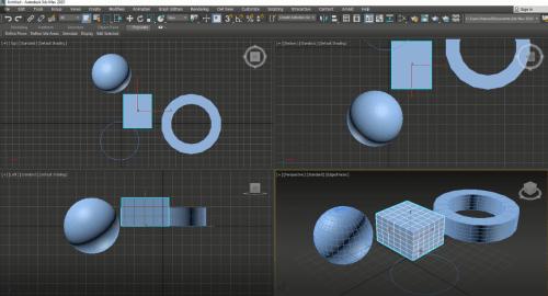 آشنایی با محیط تری دی مکس (3D Max)