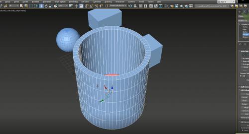 آشنایی با اشکال پایه در تری دی مکس (3D Max)
