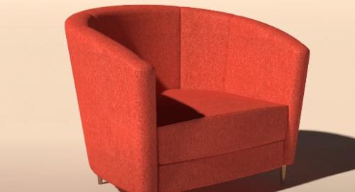 آموزش مدل سازی مبل مدرن در تری دی مکس (3D Max)