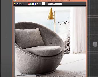 آموزش مدل سازی صندلی در تری دی مکس(3D Max)