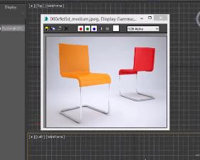 آموزش مدل سازی صندلی در تری دی مکس (3D Max)