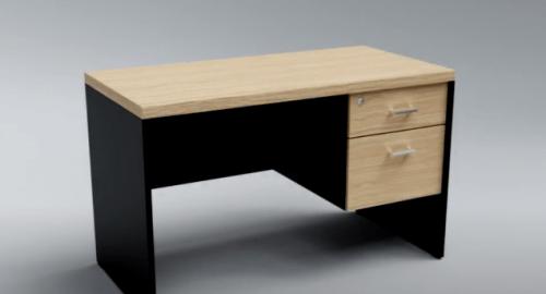 آموزش مدل سازی میز اداری در تری دی مکس (3D Max)