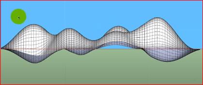 آموزش رایگان مدلسازی دیوار پارامتریک در اسکچاپ (SketchUp)