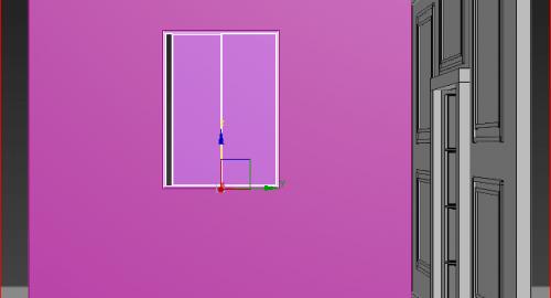 آموزش رایگان ارتباط در و پنجره با دیوار در تری دی مکس  ( 3dmax )