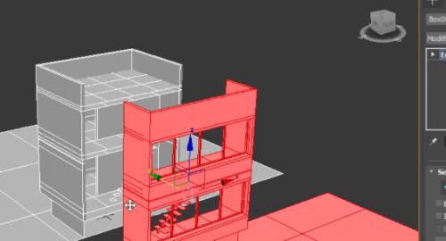آموزش برش زدن از مدل سه بعدی(Section) در تری دی مکس (3d max)
