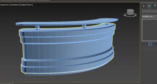 آموزش رایگان مدلسازی میز در تری دی مکس ( 3d Max )