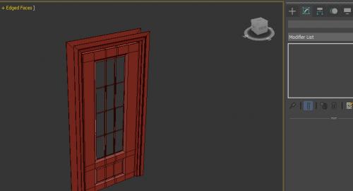 آموزش رایگان مدلسازی درب در تری دی مکس ( 3d Max )
