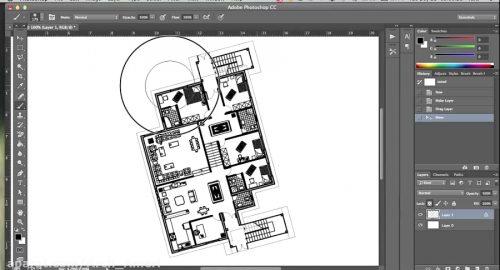 آموزش رایگان فتوشاپ Photoshop – انتقال فایل اتوکد به فتوشاپ