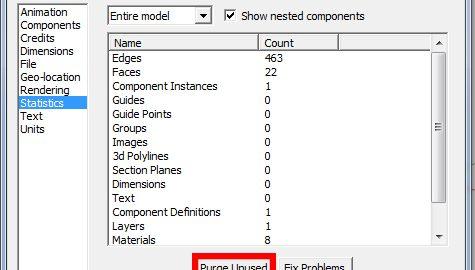 آموزش رایگان سبک کردن حجم فایل در اسکچاپ (SketchUp)